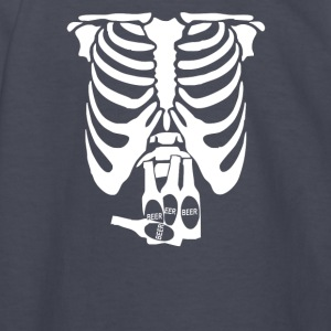 Beer Belly Xray Skeleton Funny - Kids' Long Sleeve T-Shirt