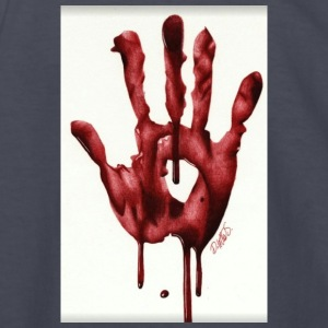 Bloody Hand - Kids' Long Sleeve T-Shirt