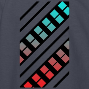 Blue and Red Pattern - Kids' Long Sleeve T-Shirt