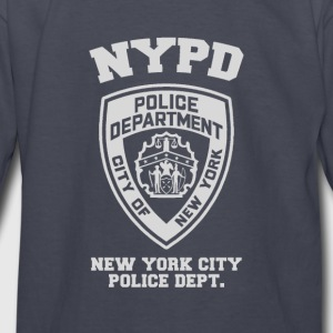 NYPD Sweater [DB] - Kids' Long Sleeve T-Shirt