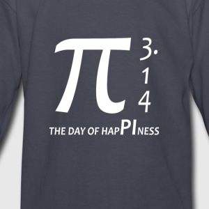 Pi day - The day of happiness 3 14 - Kids' Long Sleeve T-Shirt