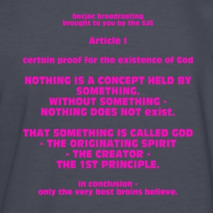 Proof for the Existence of God - Kids' Long Sleeve T-Shirt