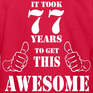 77th Birthday Get Awesome T Shirt Made in 1940 - Kids' Long Sleeve T-Shirt