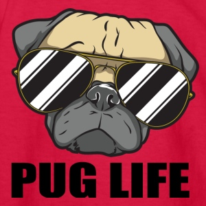 Pug life - Kids' Long Sleeve T-Shirt