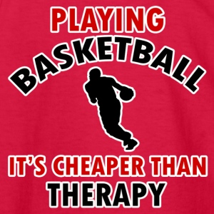 basketball design - Kids' Long Sleeve T-Shirt
