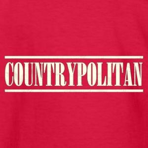 countrypolitan white - Kids' Long Sleeve T-Shirt