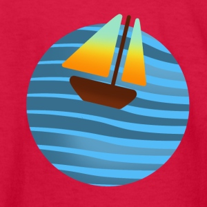 boat - Kids' Long Sleeve T-Shirt