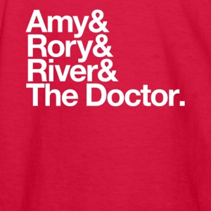 Amy & Rory & River & The Doctor. - Kids' Long Sleeve T-Shirt