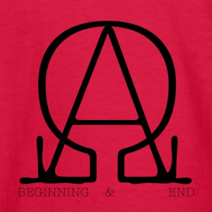 The Beginning and the End - Kids' Long Sleeve T-Shirt