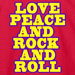 lOVE_pEACE - Kids' Long Sleeve T-Shirt