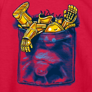 Droid Trouble - Kids' Long Sleeve T-Shirt