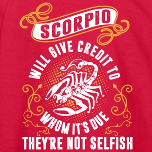 Scorpio Will Give Credit To Whom Its Due Theyre No - Kids' Long Sleeve T-Shirt