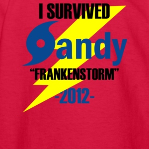 I Survived Sandy 2012 Frankenstorm - Kids' Long Sleeve T-Shirt