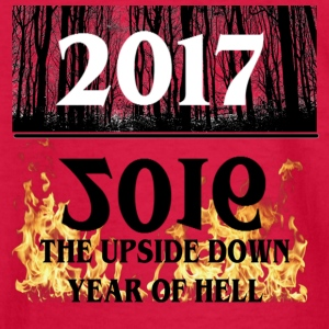 2017- 2016 Upside Down Year Of Hell - Kids' Long Sleeve T-Shirt