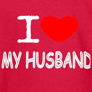 I LOVE MY HUSBAND - Kids' Long Sleeve T-Shirt