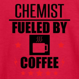 Chemist Fueled By Coffee - Kids' Long Sleeve T-Shirt