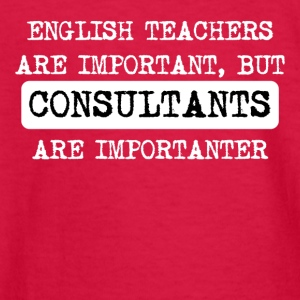Consultants Are Importanter - Kids' Long Sleeve T-Shirt