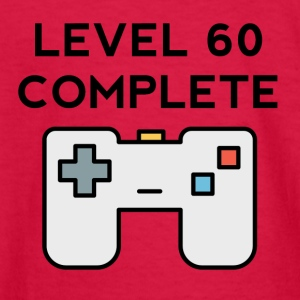 Level 60 Complete 60th Birthday - Kids' Long Sleeve T-Shirt