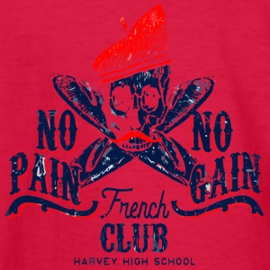 French CLUB HARVEY HIGH SCHOOL - Kids' Long Sleeve T-Shirt