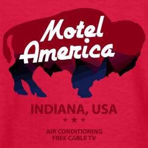 New America Motel - Kids' Long Sleeve T-Shirt