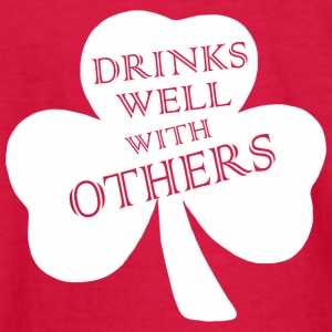 Drink Well With Others Saint Patricks Day - Kids' Long Sleeve T-Shirt