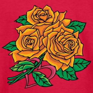 big_yellow_roses - Kids' Long Sleeve T-Shirt
