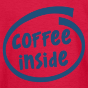 1829C coffee inside - Kids' Long Sleeve T-Shirt