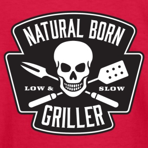 Born Griller - Kids' Long Sleeve T-Shirt