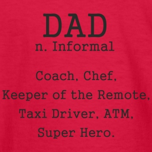 Fathers Day Gift - Dad Informal Coach Chef Super - Kids' Long Sleeve T-Shirt
