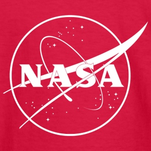 NASA logo 2 - Kids' Long Sleeve T-Shirt