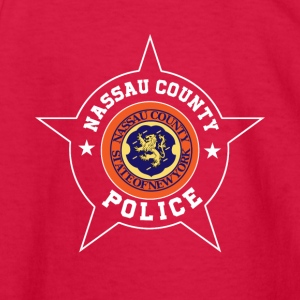 Nassau County Police T Shirt - Nassau County flag - Kids' Long Sleeve T-Shirt