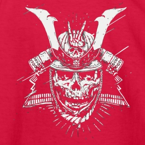 Metal Samurai - Kids' Long Sleeve T-Shirt