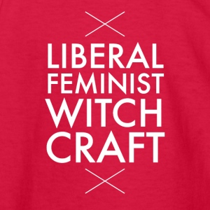 Liberal feminist witch craft - Kids' Long Sleeve T-Shirt