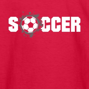 Soccer football Design Products - Kids' Long Sleeve T-Shirt