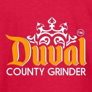DUVAL COUNTY GRINDER - Kids' Long Sleeve T-Shirt