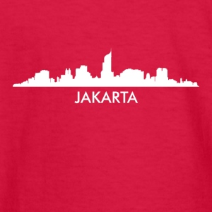 Jakarta Indonesia Skyline - Kids' Long Sleeve T-Shirt