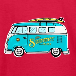 Hippie van - Kids' Long Sleeve T-Shirt