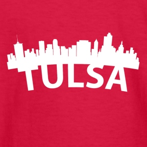 Arc Skyline Of Tulsa OK - Kids' Long Sleeve T-Shirt