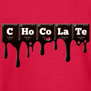 Periodic Elements: CHoCoLaTe - Kids' Long Sleeve T-Shirt