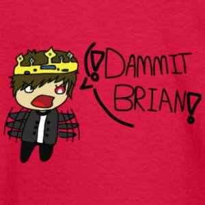The DAMMIT BRIAN Collection! (Collection 1) - Kids' Long Sleeve T-Shirt