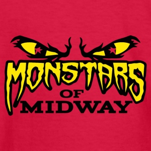 Monstars of Midway - Kids' Long Sleeve T-Shirt