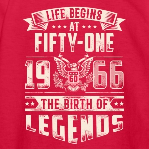 Life Begins At Fifty One Tshirt - Kids' Long Sleeve T-Shirt