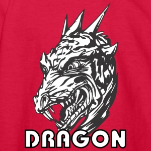 scary_dragon_head - Kids' Long Sleeve T-Shirt