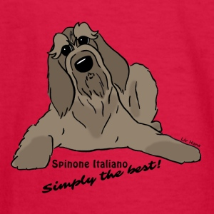 Spinone Italiano - Simply the best! - Kids' Long Sleeve T-Shirt