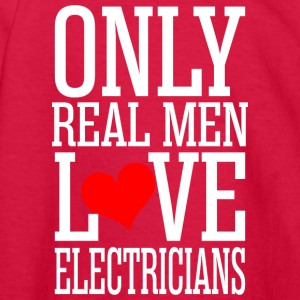 Only Real Men Love Electricians - Kids' Long Sleeve T-Shirt