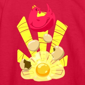 Sunny Side Up - Kids' Long Sleeve T-Shirt