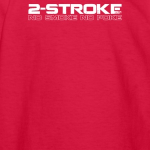 2 Stroke No Smoke No Poke Biker - Kids' Long Sleeve T-Shirt