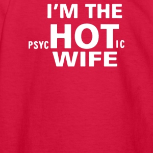 Im the Hot Wife - Kids' Long Sleeve T-Shirt