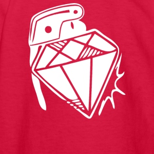 Diamond Grenade - Kids' Long Sleeve T-Shirt