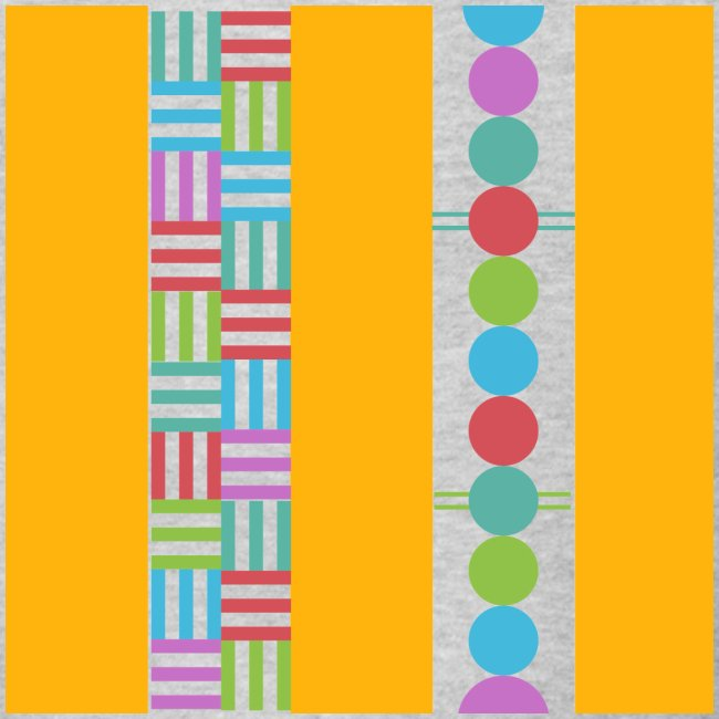 colourful and playful patterns